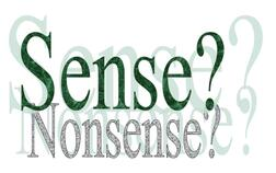 sense, nonsense, Linda Ledwidge, FreeFloLiving